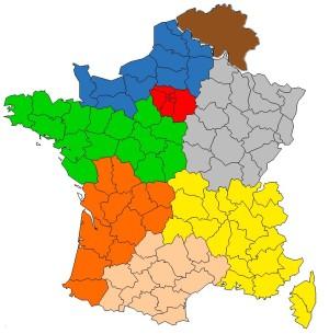 carte de france et de belgique des commerciaux heliopac